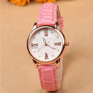 Roman Noctilucent Stylish Rhinestone Hot Sale Ladies Fashion Quartz Watch = 5861580929