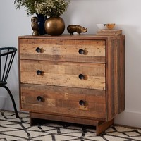 Emmerson™ Reclaimed Wood 3-Drawer Dresser - Natural