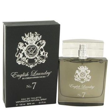 English Laundry No. 7 by English Laundry Eau De Toilette Spray 3.4 oz (Men)