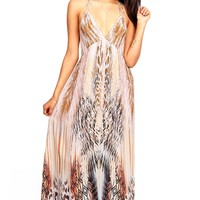 Savannah Heat Maxi Dress