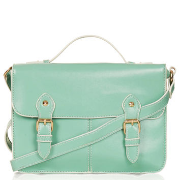 Edge Paint Satchel - Bags & Purses - Bags & Accessories - Topshop