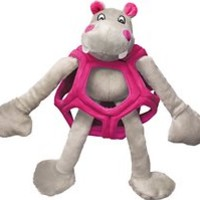 KONG Puzzlements Hippo Dog Toy