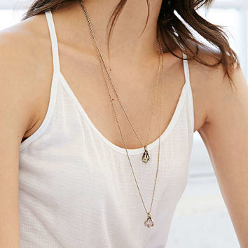 Ancient Melodies Double-Layer Necklace - Urban Outfitters