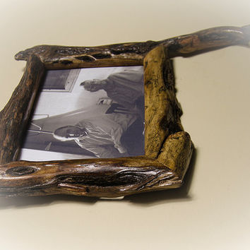 5x7 Canadian Willow Drift Wood Picture Frame