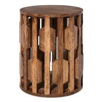 Threshold™ Carved Wooden Accent Table