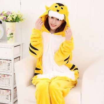 PEAPIX3 Animal Sleepwear Lovely Cartoons Couple Winter Home Set Halloween Costume [9220975620]