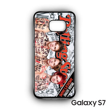 5 SOS Naked Rolling Stone for Samsung Galaxy S7 phonecases