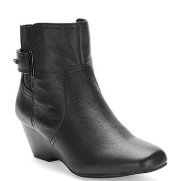 Anne Klein Damalis Leather Ankle Boot