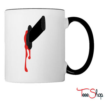 stabbed in the back Coffee & Tea Mug