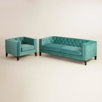 Teal Kendall Seating Collection