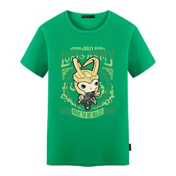 Marvel Chibi Loki's Army T shirt