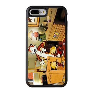 Calvin And Hobbes Surprise iPhone 8 Plus Case