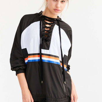 P.E Nation Lace-Up Hoodie Sweatshirt - Urban Outfitters