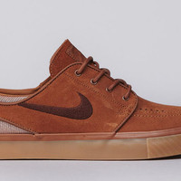 Nike SB Zoom Stefan Janoski Low - Light Redwood / Team Red - Light Redwood | KicksOnFire.com