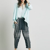 Free People Womens Printed Pant