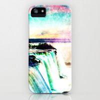 Incredible Waterfall - for iphone iPhone & iPod Case by Simone Morana Cyla