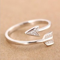 Forever Cupid Open Ring