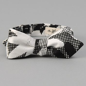 TOMS x The Hill-Side Bow Tie, Big Halftone Floral Print