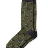 Banana Republic Plane Sock Size One Size - Seaweed