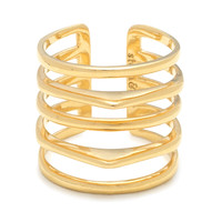 Maylee Ring - Gold MD/LG