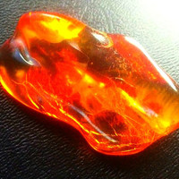 AAA Baltic Amber Genuine Amber Organic Gemstone For Wire Wrapping or Ritual
