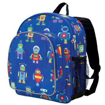 Olive Kids Robots Pack 'n Snack Backpack - 40112