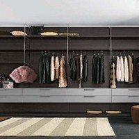 Sectional walk-in wardrobe BLOG Blog Collection by Battistella