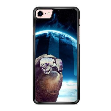 Sloth Llama Laser iPhone 7 Case