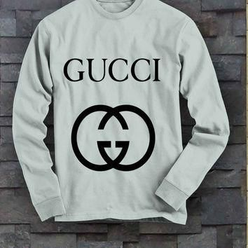 long sleeve tee Gucci...,men t-shirt , ,sweat vest ,men s ves ,Hangin Shirt ,gildan st