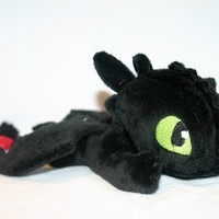 Beanie Toothless Plush from Folly Lolly