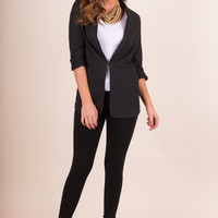 Finer Things In Life Blazer, Black