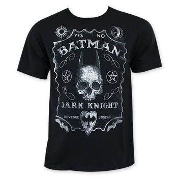 Batman Men's Black Jack Daniels Style Tee Shirt