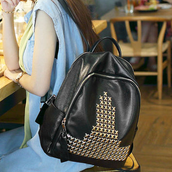 Fashion Women Backpack Casual High Quality Crossbody Messenger Bags Leather Shoulder Bag Female Chic Handbag Gift 67