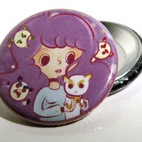 Bee & Puppycat Dream Button