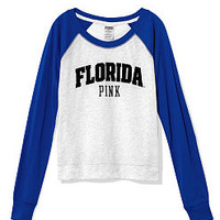 University of Florida Shrunken Raglan Tee - PINK - Victoria's Secret
