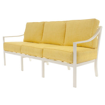 David Francis Furniture Capri Sofa with Cushions & Reviews | Wayfair