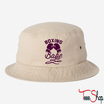Boxing Babe bucket hat