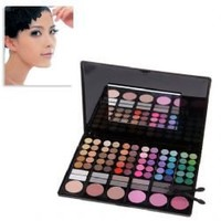 Professional 78 Colors Compact Shimmering Eye Shadows Palette Makeup Gadget with Mirror for Lady