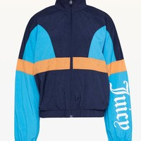 JXJC Gothic Logo Colorblock Nylon Jacket