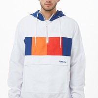 Wilson Hooded Colorblock Windbreaker