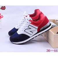 New Balance Fashionable Casual All-Match N Words Breathable Couple Sneakers Shoes 4#