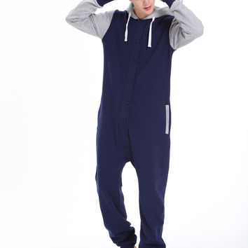 one piece jumpsuit adult Onesuits unisex playsuit Hoody fleece onezie Baseball  romper fashion clothes