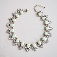 Mint Collar Necklace