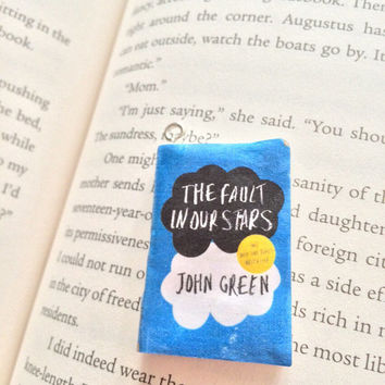 The Fault In Our Stars Pendent/Charm - Perfect for Necklaces, Ear Rings, Keychains, and More!