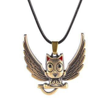 Choker Necklace Fairy Tails Pendant Mysteries Happy Owl Bird Necklace New Style Fairy Tail Vintage Chocker Jewelry