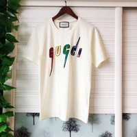 GUCCI Women Short Sleeve Bowknot Top