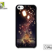 Tangled the lights iPhone 5c case by Avallen