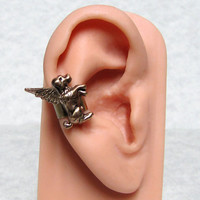 Angel Dog Ear Cuff ( right ear )