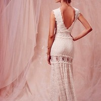 Estelle Open Back Gown