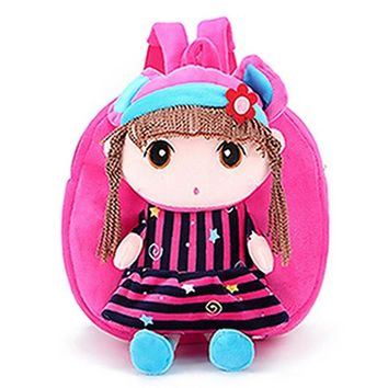 Toddler Backpack class 2017 Cute Kids Child Cartoon Girls Backpack Baby Toddler Schoolbag Shoulder Bag Nylon Soft Colorful Bags Gift AT_50_3